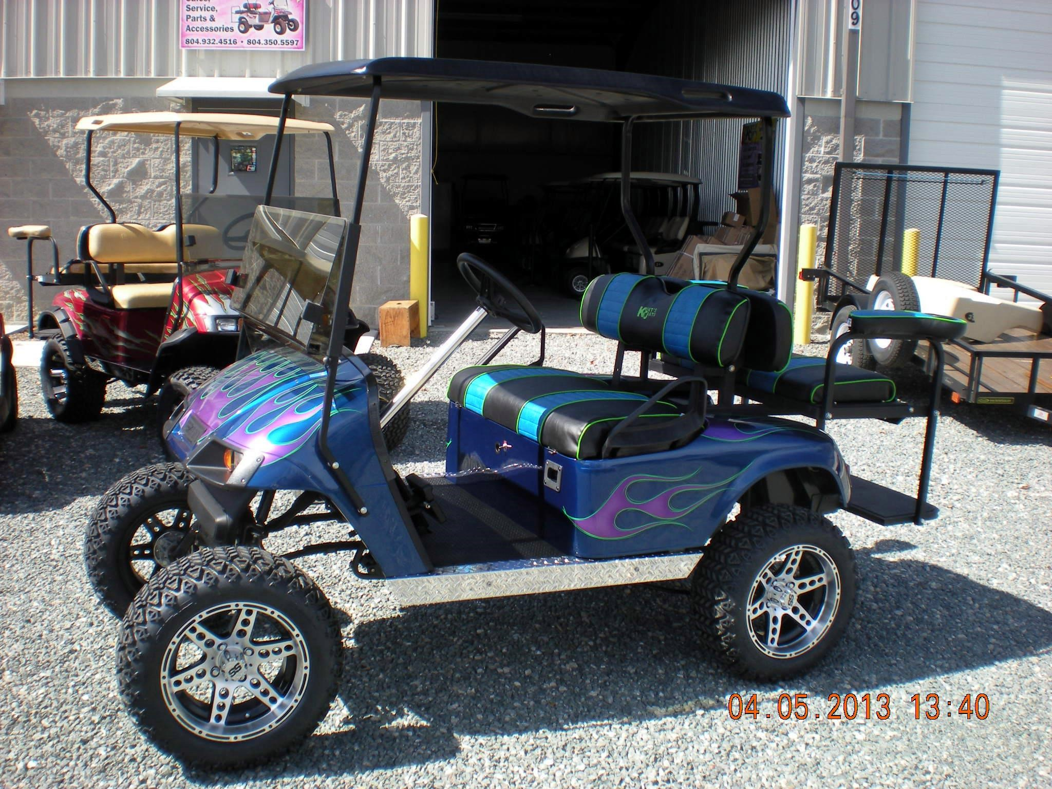 Umax Adventure Cart further Psi42 together with Purple Golf Carts For Sale moreover Wiring Diagram For Club Car Starter Generator besides Watch. on yamaha gas golf cart